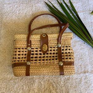 Handbags - Rattan basket bag 🌴 🌞